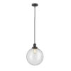 This item: Franklin Restoration Oil Rubbed Bronze 12-Inch One-Light Pendant with Seedy Beacon Shade