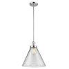 This item: X-Large Cone Polished Chrome LED Pendant