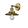 This item: Railroad Brushed Brass LED Wall Sconce
