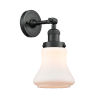This item: Franklin Restoration Matte Black 11-Inch One-Light Wall Sconce