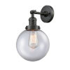This item: Large Beacon Oil Rubbed Bronze One-Light Wall Sconce with Clear Glass