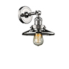 This item: Railroad Polished Nickel One-Light Wall Sconce