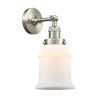 This item: Canton Brushed Satin Nickel LED Wall Sconce