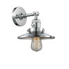 This item: Franklin Restoration Polished Chrome Eight-Inch One-Light Wall Sconce with Railroad Polished Chrome Metal Shade