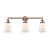 This item: Canton Antique Copper Three-Light LED Bath Vanity
