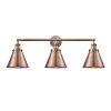 This item: Appalachian Antique Copper Three-Light LED Bath Vanity