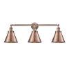 This item: Appalachian Antique Copper Three-Light Bath Vanity