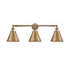 This item: Appalachian Brushed Brass Three-Light LED Bath Vanity