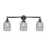 This item: Stanton Matte Black Three-Light LED Bath Vanity