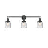 This item: Franklin Restoration Oil Rubbed Bronze 30-Inch Three-Light Bath Vanity with Seedy Small Bell Shade