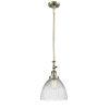 This item: Seneca Falls Antique Brass LED Mini Pendant with Clear Glass