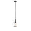 This item: Franklin Restoration Oil Rubbed Bronze Seven-Inch One-Light Mini Pendant with Matte White Canton Shade and Wire
