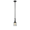 This item: Small Bell Oiled Rubbed Bronze 14-Inch LED Mini Pendant with Clear Bell Glass