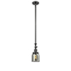 This item: Small Bell Oiled Rubbed Bronze 14-Inch LED Mini Pendant with Smoked Bell Glass