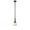 This item: Small Cone Oiled Rubbed Bronze 14-Inch LED Mini Pendant with Matte White Cased Cone Glass