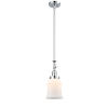 This item: Canton Polished Chrome One-Light Hang Straight Swivel Mini Pendant with Matte White Glass