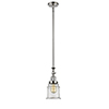 This item: Canton Polished Nickel 14-Inch LED Mini Pendant with Clear Bell Glass