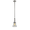 This item: Bellmont Polished Nickel 14-Inch LED Mini Pendant with Seedy Hourglass Glass