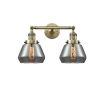 This item: Fulton Antique Brass Two-Light LED Bath Vanity