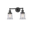 This item: Franklin Restoration Oil Rubbed Bronze 17-Inch Two-Light LED Bath Vanity with Clear Glass Shade