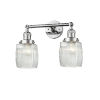 This item: Colton Polished Chrome Two-Light LED Bath Vanity