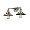 This item: Railroad Brushed Satin Nickel Two-Light Bath Vanity