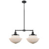 This item: Franklin Restoration Oil Rubbed Bronze 25-Inch Two-Light Chandelier