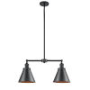 This item: Franklin Restoration Oil Rubbed Bronze 23-Inch Two-Light LED Chandelier