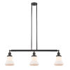 This item: Bellmont Oil Rubbed Bronze Three-Light LED Adjustable Island Pendant with Matte White Glass