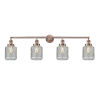 This item: Stanton Antique Copper Four-Light LED Bath Vanity