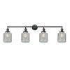 This item: Stanton Matte Black Four-Light LED Bath Vanity