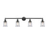 This item: Franklin Restoration Oil Rubbed Bronze 42-Inch Four-Light Bath Vanity with Clear Canton Shade