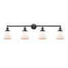 This item: Franklin Restoration Oil Rubbed Bronze 42-Inch Four-Light LED Bath Vanity with Matte White Bellmont Shade