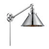 This item: Briarcliff Polished Chrome One-Light Swing Arm Wall Sconce