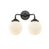 This item: Beacon Oil Rubbed Bronze 14-Inch Two-Light Bath Vanity