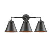 This item: Nouveau Oil Rubbed Bronze 26-Inch Three-Light Bath Vanity