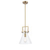 This item: Newton Brushed Brass 14-Inch LED Pendant