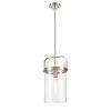 This item: Pilaster Brushed Satin Nickel One-Light Mini Pendant