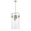 This item: Pilaster Brushed Satin Nickel Four-Light Pendant