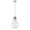 This item: Genesis Polished Chrome 10-Inch One-Light Pendant with Seedy Glass Shade