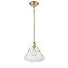 This item: Luna Satin Brass One-Light Pendant