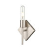 This item: Mia Satin Nickel Seven-Inch LED Wall Sconce