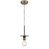 This item: Aurora Black Brushed Brass LED Mini Pendant
