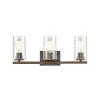 This item: Westlake Matte Black Three-Light LED Bath Vanity
