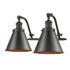 This item: Franklin Restoration Oil Rubbed Bronze 18-Inch Two-Light LED Bath Vanity with Appalachian Metal Shade