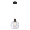 This item: Ballston Oil Rubbed Bronze Eight-Inch One-Light Mini Pendant with Seedy Athens Shade