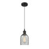 This item: Caledonia Oil Rubbed Bronze LED Mini Pendant with Charcoal Glass