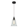 This item: Hanover Oil Rubbed Bronze LED Mini Pendant with Fishnet Glass