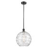 This item: Ballston Matte Black 12-Inch LED Pendant with Clear Glass Shade