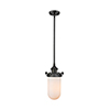 This item: Kingsbury Oiled Rubbed Bronze Six-Inch LED Mini Pendant with Matte White Cased Globe Glass